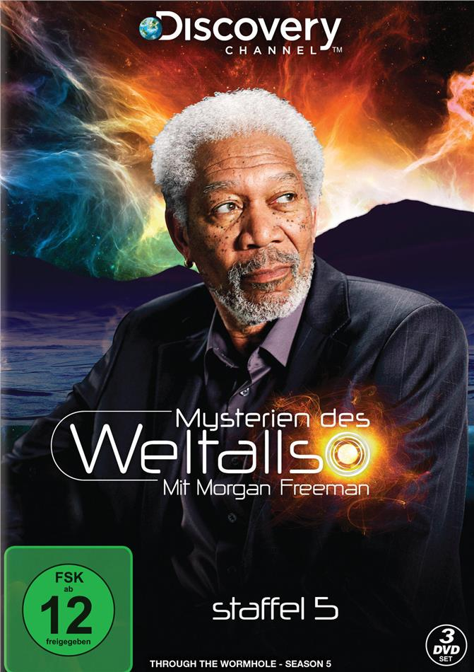 Mysterien des Weltalls - Mit Morgan Freeman - Staffel 5 (Discovery Channel, 3 DVDs)