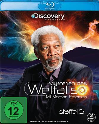 Mysterien des Weltalls - Mit Morgan Freeman - Staffel 5 (Discovery Channel, 3 Blu-rays)