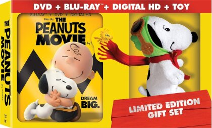 The Peanuts Movie (2015) (Gift Set, Limited Edition, Blu-ray + DVD)