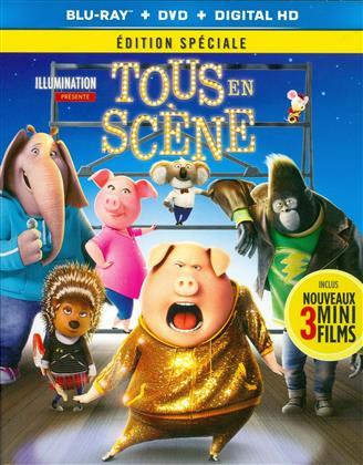 Tous en scène (2016) (Édition Spéciale, Blu-ray + DVD)