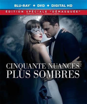 """Cinquante nuances plus sombres (2017) (Édition Spéciale """"Démasquée"""", Kinoversion, Langfassung, Blu-ray + DVD)"""