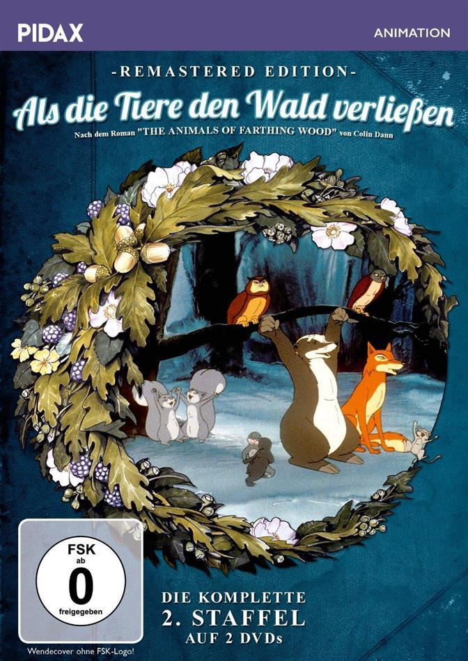 Als die Tiere den Wald verliessen - Staffel 2 (Pidax Animation, Remastered, 2 DVDs)