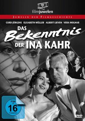 Das Bekenntnis der Ina Kahr (1954) (Filmjuwelen, n/b)