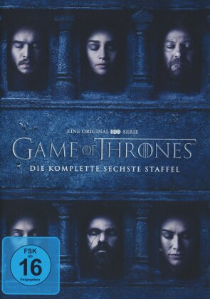 Game of Thrones - Staffel 6 (5 DVDs)