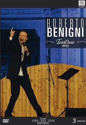 Roberto Benigni - Tutto Dante - Canti XXIX, XXX, XXXI Inferno (3 DVDs)