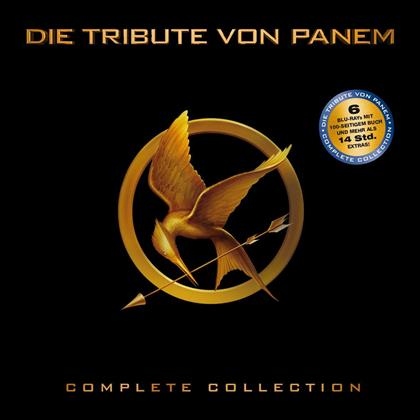 Die Tribute von Panem - Complete Collection (Limited Edition, 4 Blu-rays + 2 Blu-ray 3D)