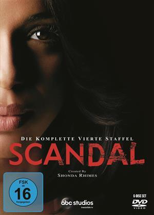 Scandal - Staffel 4 (6 DVDs)