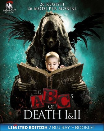 The ABC's of Death 1 & 2 (Limited Edition, 2 Blu-rays)