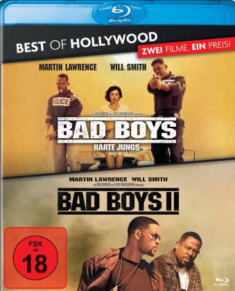 Bad Boys - Harte Jungs / Bad Boys 2 (Best of Hollywood, 2 Blu-rays)