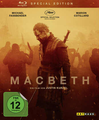 Macbeth (2015) (Arthaus, Special Edition)