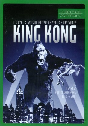 King Kong (1933) (Collection Patrimoine, s/w)