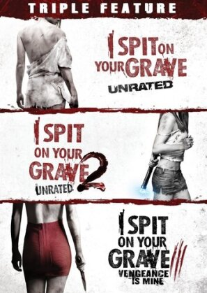 I Spit on Your Grave 1-3 (Triple Feature, 3 DVDs)