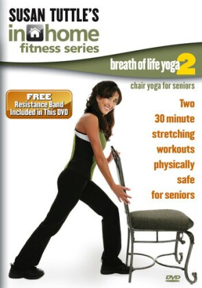Susan Tuttle's in Home Fitness - Chair Resistance Band 2 Workout (includes Resistance Band)