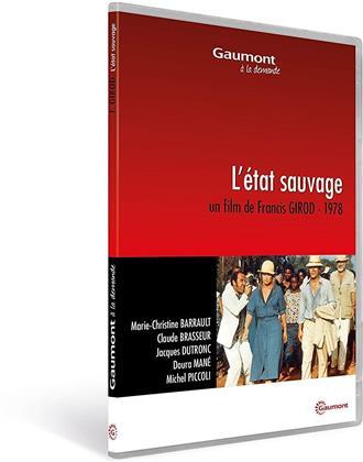 L'état sauvage (1978) (Collection Gaumont à la demande)