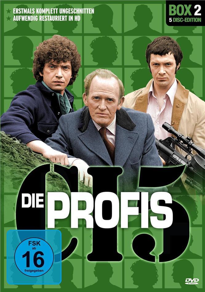 Die Profis - Box 2 (Restaurierte Fassung, Uncut, 5 DVDs)