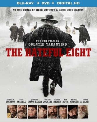 The Hateful Eight (2015) (Blu-ray + DVD)