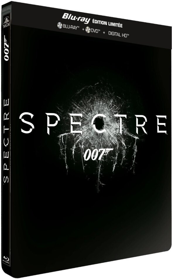 James Bond: Spectre (2015) (Limited Edition, Steelbook, Blu-ray + DVD)
