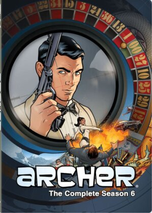 Archer: Season 6 - Archer: Season 6 (2PC) / (Dub) (Widescreen, 2 DVDs)