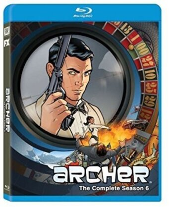 Archer: Season 6 - Archer: Season 6 (2PC) / (Dhd) (Widescreen, 2 Blu-rays)