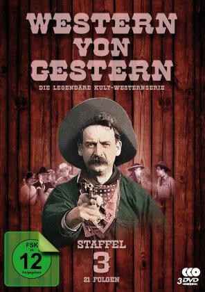Western von Gestern - Staffel 3 (s/w, 3 DVDs)