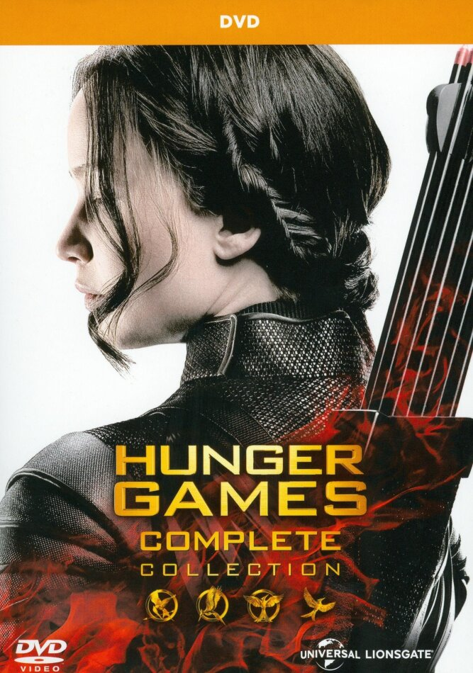 Hunger Games - Complete Collection (4 DVDs)