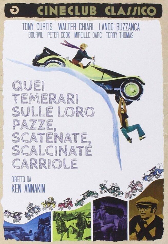 Quei temerari sulle loro pazze, scatenate, scalcinate carriole (1969)