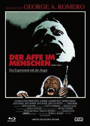 Der Affe im Menschen - Ein Experiment mit der Angst (1988) (Cover B, Limited Collector's Edition, Mediabook, Uncut, Blu-ray + DVD)