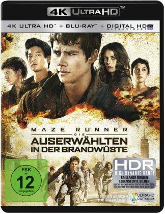 Maze Runner 2 - Die Auserwählten in der Brandwüste (2015) (4K Ultra HD + Blu-ray)