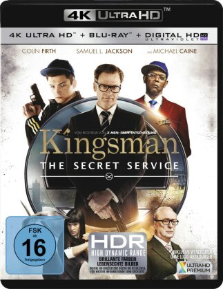 Kingsman - The Secret Service (2014) (4K Ultra HD + Blu-ray)