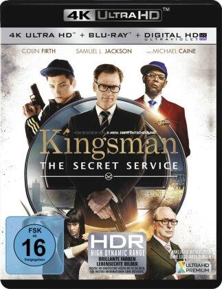 Kingsman - The Secret Service (2014) (4K Ultra HD + Blu-ray)