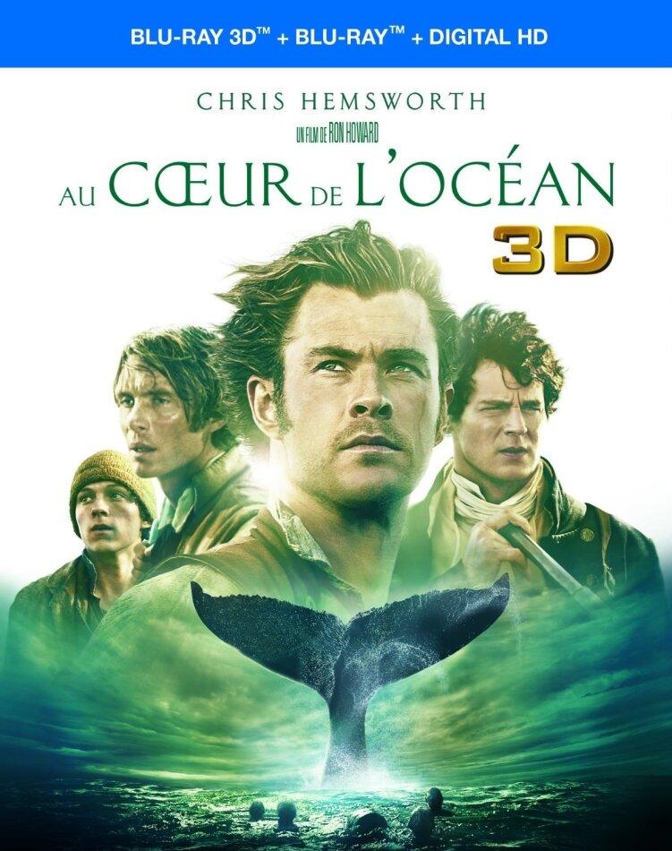 Au coeur de l'Océan (2015) (Blu-ray 3D + Blu-ray)