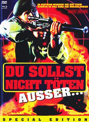 Du sollst nicht Töten ausser... (1985) (Cover A, Mediabook, Special Edition, Uncut, Blu-ray + 2 DVDs)