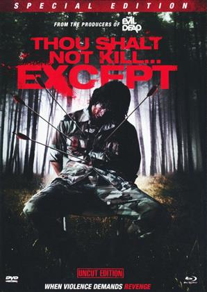 Thou shault not kill... except (1985) (Cover C, Mediabook, Special Edition, Uncut, Blu-ray + 2 DVDs)