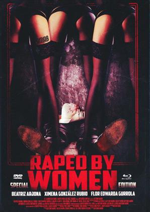 Raped by Women (2014) (Cover C, Mediabook, Edizione Speciale, Blu-ray + DVD)