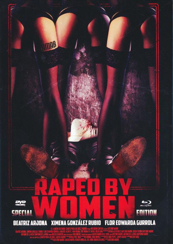 Raped by Women (2014) (Cover C, Mediabook, Edizione Speciale, Blu-ray + DVD)