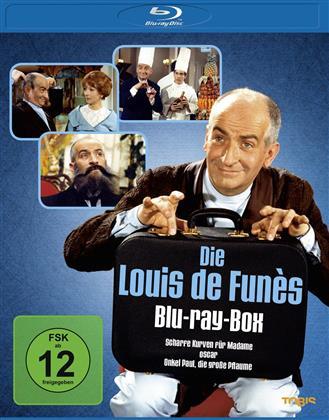 Louis De Funes - Scharfe Kurven für Madame / Oscar / Onkel Paul, die grosse Pflaume (3 Blu-rays)