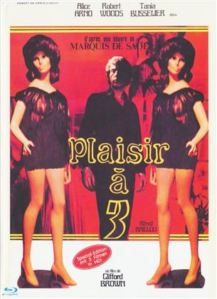Plaisir à 3 (1974) (Cover C, Eurocult Collection, Limited Edition, Uncut, Mediabook, Special Edition, 3 Blu-rays)
