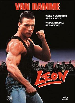 Leon (1990) (Cover C, Limited Edition, Uncut, Mediabook, Blu-ray + DVD)