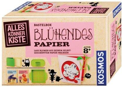 Blühendes Papier