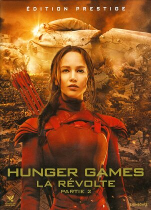 Hunger Games 4 - La Révolte - Partie 2 (2015) (Édition Prestige, Limited Edition, Blu-ray 3D + Blu-ray + 2 DVDs)