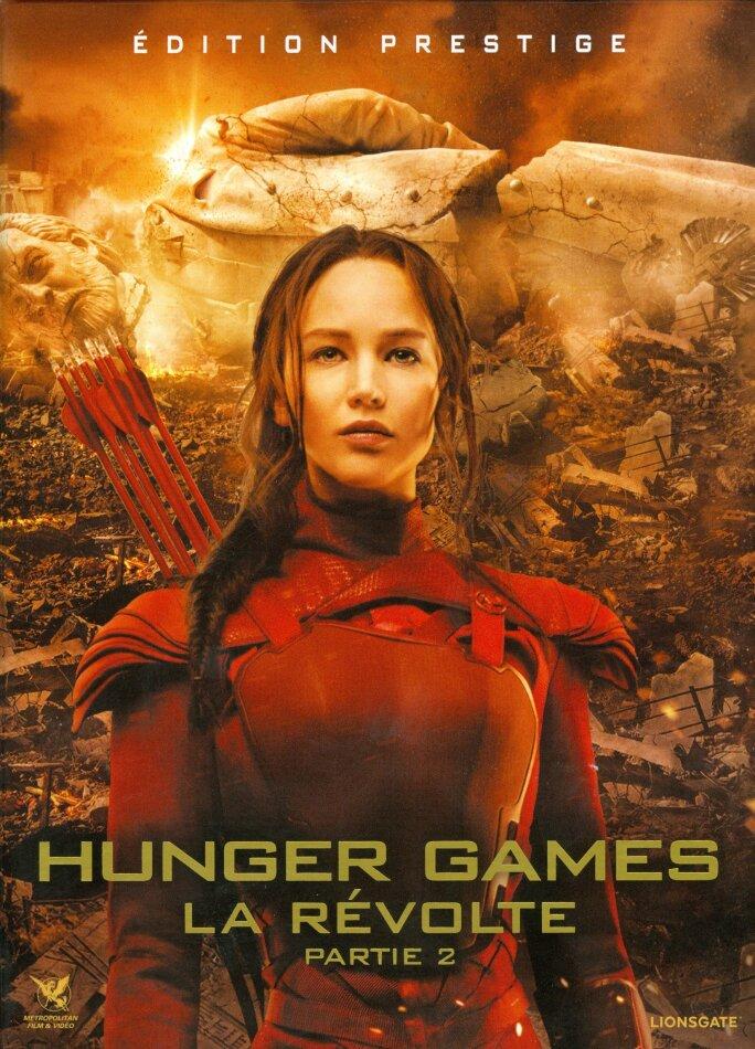 Hunger Games 4 - La Révolte - Partie 2 (2015) (Édition Prestige, Limited Edition, Blu-ray 3D + Blu-ray + 2 DVDs)