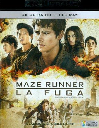 Maze Runner 2 - La fuga (2015) (4K Ultra HD + Blu-ray)