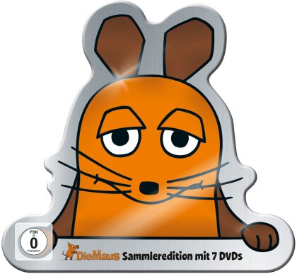 Die Sendung Mit Der Maus - Sammleredition (Metallbox, Sammleredition, Limited Edition, 7 DVDs)