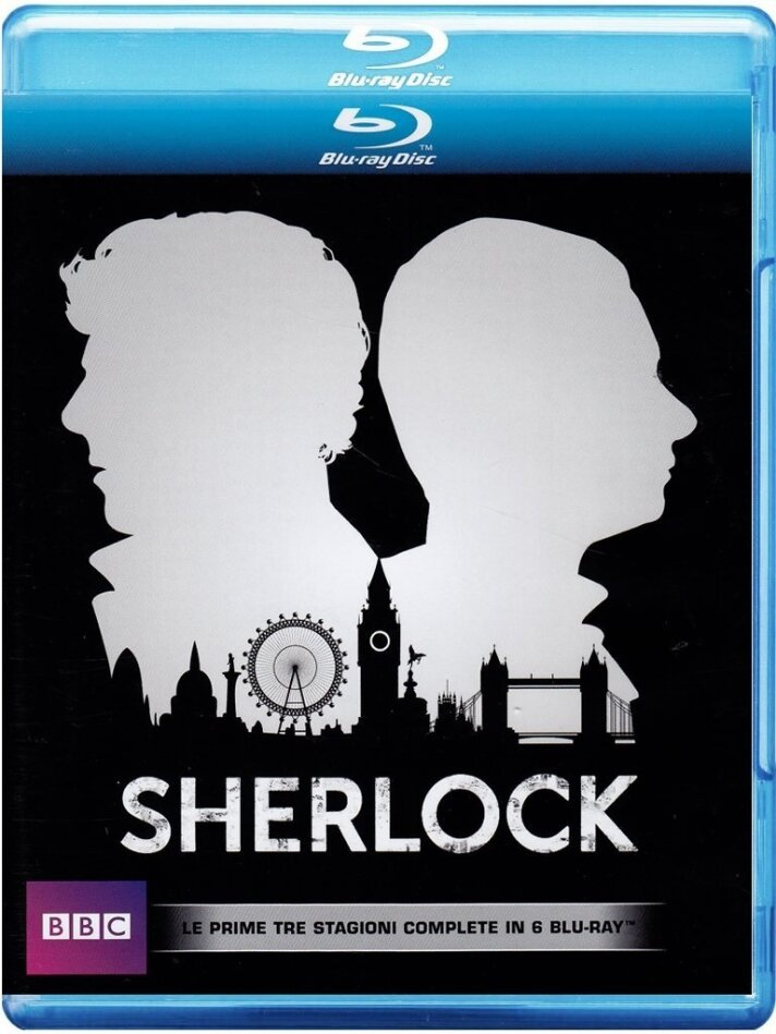 Sherlock - Stagioni 1-3 (BBC, 6 Blu-rays)