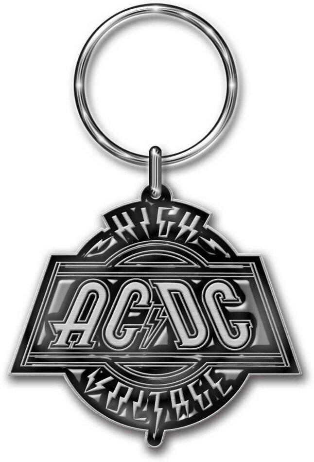 AC/DC Keychain - High Voltage (Die-cast Relief)