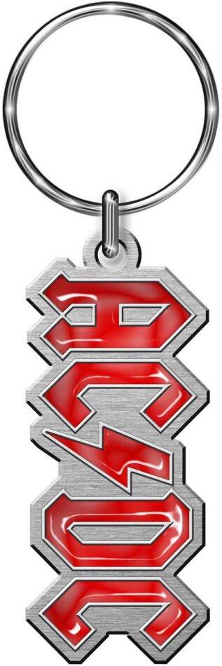 AC/DC Keychain - Logo (Die-cast Relief)