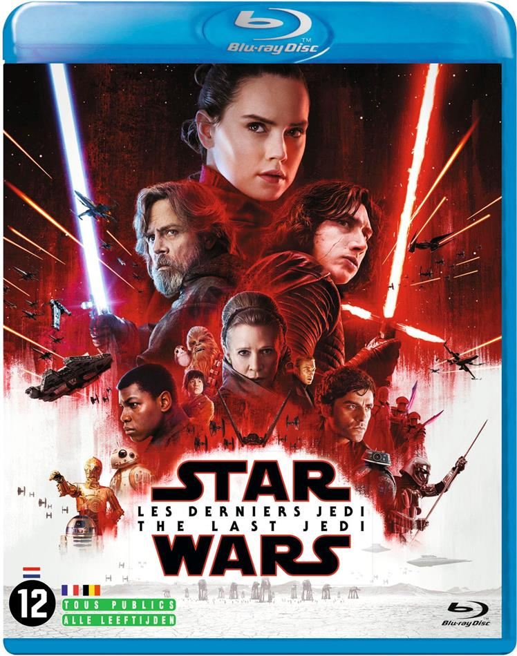 Star Wars - Episode 8 - Les derniers Jedi - The Last Jedi (2017) (2 Blu-rays)