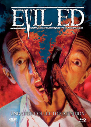 Evil Ed (1995) (Cover B, Collector's Edition, Limited Edition, Mediabook, Uncut, Unrated, Blu-ray + DVD)