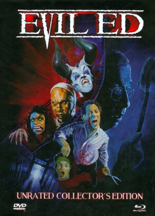 Evil Ed (1995) (Cover A, Collector's Edition, Limited Edition, Mediabook, Uncut, Unrated, Blu-ray + DVD)