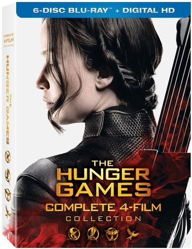 The Hunger Games - Complete 4-Film Collection (6 Blu-rays)
